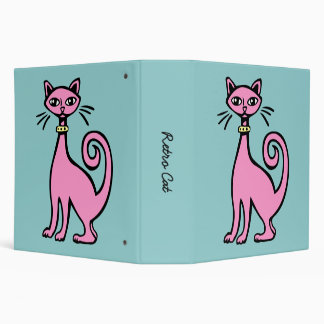 Retro Cat (2.0in) Binder