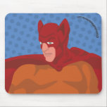 Retro Cat-Man Mouse Pad