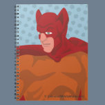 Retro Cat-Man Notebook