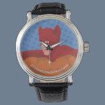 Retro Cat-Man Wristwatch