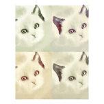 RETRO CAT PERSONALIZED LETTERHEAD
