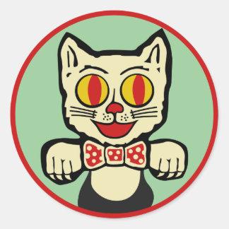 Retro Cat Sticker