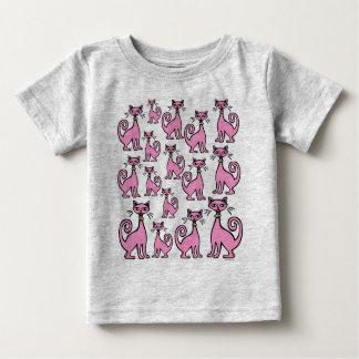 Retro Cats - Baby - (F&B design) - Customized T-shirt