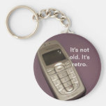 Retro Cell Phone Keychain