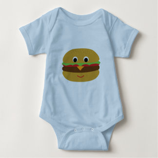 Retro Cheeseburger Baby Bodysuit