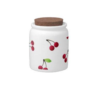 Retro Cherries Candy Jars