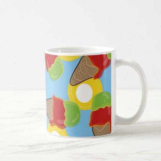 Retro Cherry and Lime Ice Cream Mug