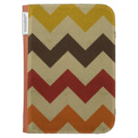 Retro chevron zigzag stripes zig zag pattern chic case for kindle