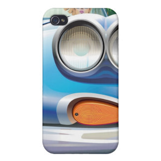 Retro Chic Hotrod iPhone 4 Speck Case