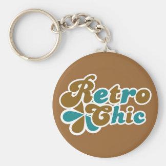 Retro Chick 70s Womens Key Chains