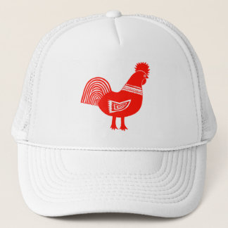 Retro Chick Trucker Hat