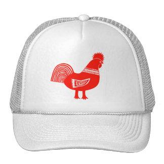 Retro Chick Trucker Hat