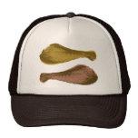 Retro Chicken Drumsticks Graphic Mesh Hat