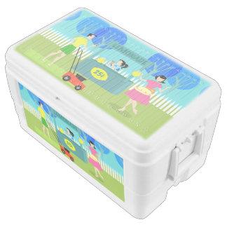 Retro Children's Lemonade Stand Igloo Cooler