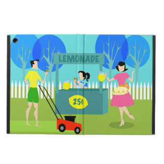 Retro Children's Lemonade Stand iPad Air Case