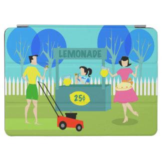 Retro Children's Lemonade Stand iPad Air Cover