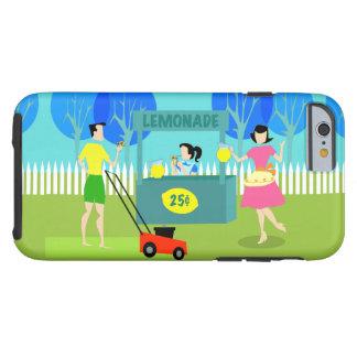 Retro Children's Lemonade Stand iPhone 6 Case