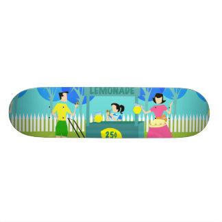 Retro Children's Lemonade Stand Skateboard
