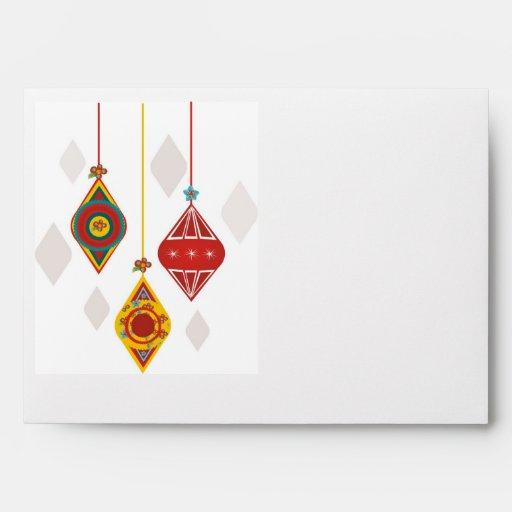 Retro Christmas Cheer Envelope