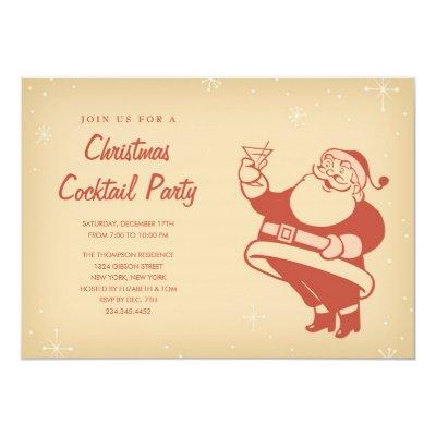 boat parade holiday party invitations zazzlecom - Christmas Cocktail Party Invitations