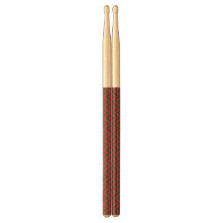 Retro Christmas Diamond Pattern Drum Sticks