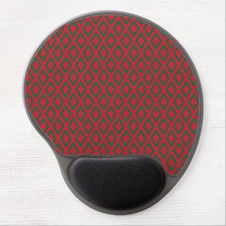 Retro Christmas Diamond Pattern Gel Mouse Pad