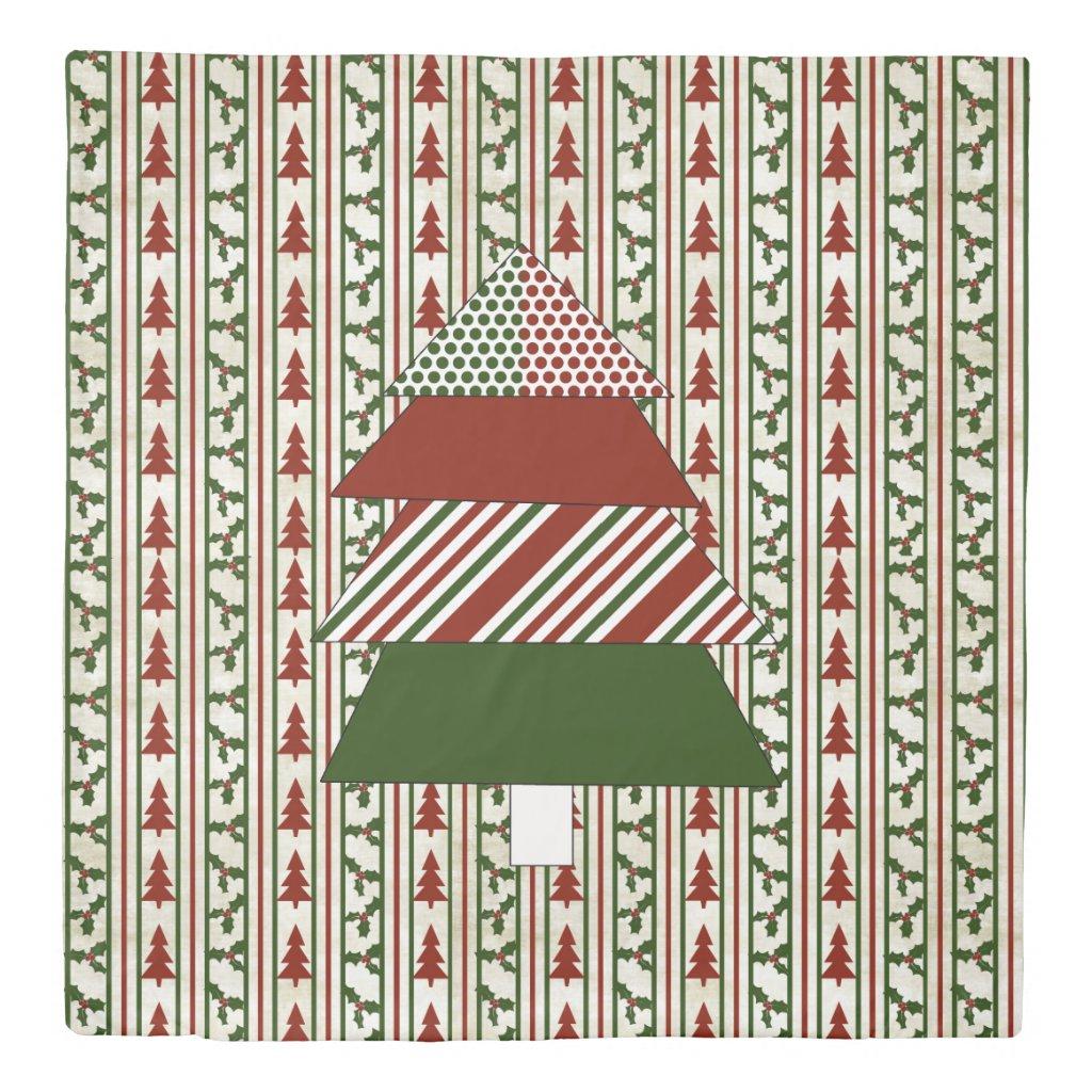 Retro Christmas Duvet Cover