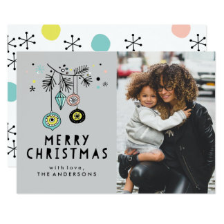Retro Christmas | Holiday Photo Card