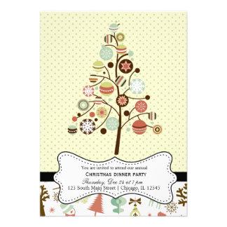 Retro Christmas Invite