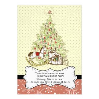 Retro Christmas Announcements