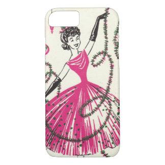 Retro Christmas iPhone 7 case