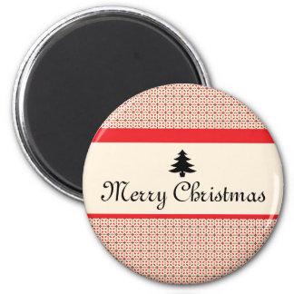 Retro Christmas Magnet