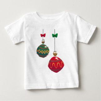 Retro  Christmas Ornaments Baby T-Shirt