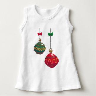 Retro Christmas Ornaments Dress