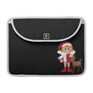 Retro Christmas Party MacBook Pro Sleeves