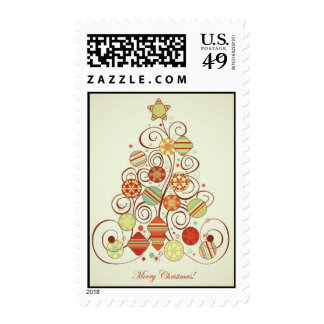 Retro Christmas Stamp