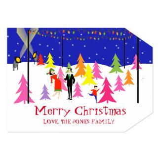 Retro Christmas Tree Farm Photo Card
