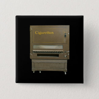 Retro Cigarette Automat Pinback Button