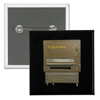 Retro Cigarette Automat Pinback Button