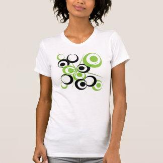 Retro Circle design Tee Shirt