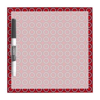 Retro Circles A Go-Go Dry Erase Board