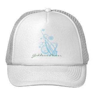 Retro Circles and Loops Goddess Power Hat