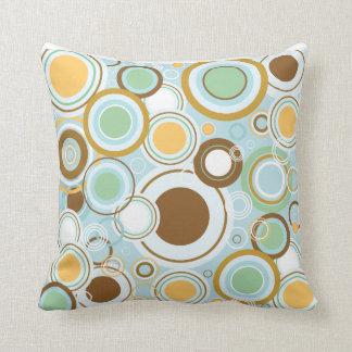 Retro circles, anyone? pillow