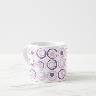 Retro Circles Espresso Cup