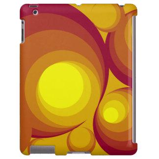 Retro Circles iPad Case