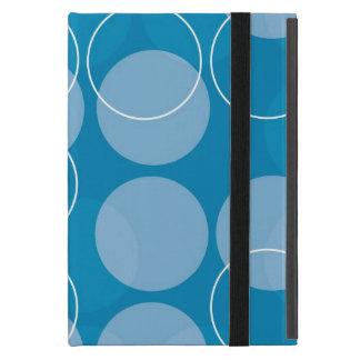Retro circles iPad mini cover