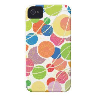 Retro Circles iPhone 4s Case