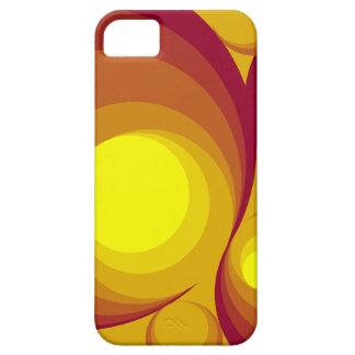 Retro Circles iPhone 5/5S Case