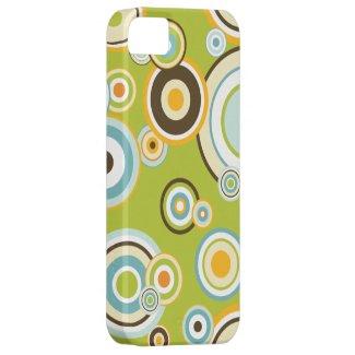 Retro Circles iPhone 5 Cover