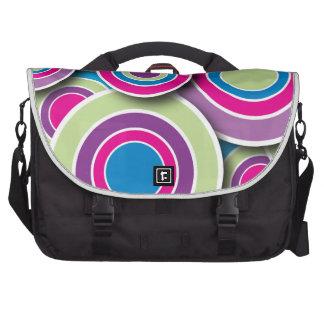 Retro Circles Commuter Bag